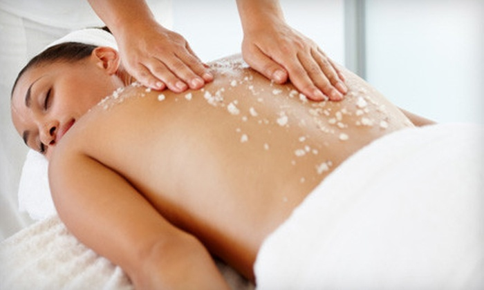 Conscious Living Clinic - Plymouth - Wayzata: One or Two Packages with a Detox Body Scrub, Massage, and Sauna Session at Conscious Living Clinic (Up to 56% Off)