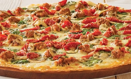 $13 for a Large Pizza, Cheesy Bread, and Cookie Dough at Papa Murphy's Take 'N' Bake ($21 Value)