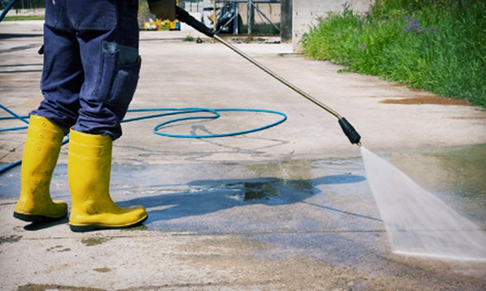 Under Pressure Cleaning & Sealing Services, LLC - Fort Myers / Cape Coral: Home Pressure Washing from Under Pressure Cleaning & Sealing Services, LLC (Up to 70% Off). Three Options Available.