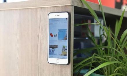 iPhone or Samsung Anti-Gravity Nano Suction Case
