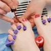 55% Off Spa Manicure and Pedicure