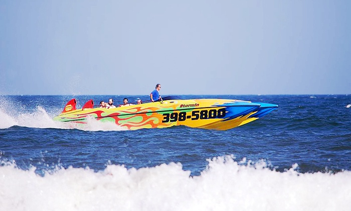 Stormin Speedboat - Ocean City: High-Speed Boat Tour and Dolphin Watching with Digital Pictures from Stormin Speedboat (Up to 51% Off)