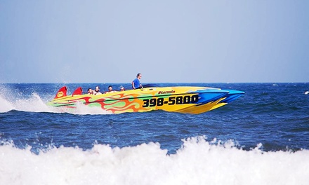 High-Speed Boat Tour and Dolphin Watching with Digital Pictures from Stormin Speedboat (Up to 51% Off)