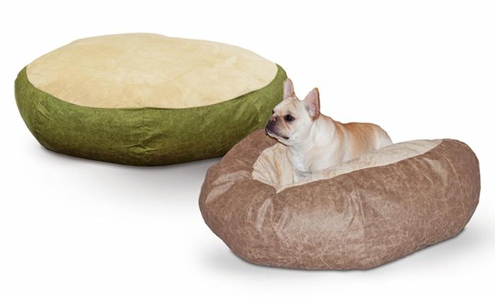 Self Warming Cuddle Ball Pet Bed Groupon Goods