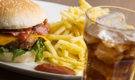 $13 for Cheeseburgers and Fries for Two at Boogie's Burgers and Brew ($22.80 Value)
