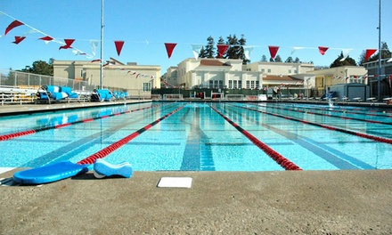 $79 for Three Months of Unlimited Lap Swimming at Burlingame Aquatic Club ($175 Value)