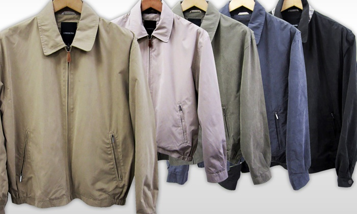 36 99 For A London Fog Men S Micro Golf Jacket 125 List Price Multiple Colors Available Free Shipping And Returns