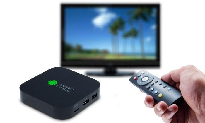 android tv mediaplayer mediabox groupon. Black Bedroom Furniture Sets. Home Design Ideas