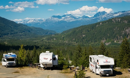 $43 for Two Days and Two Nights of RV Camping at Whistler RV Park & Campground ($86 Value)