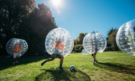 Up to 55% Off Bubble Soccer at London Bubble Soccer