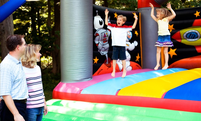 Monkee'N Around Party Rentals - Houston: Four-Hour Bounce-House Rental with Optional Concessions from Monkee'N Around Party Rentals (Up to 53% Off)