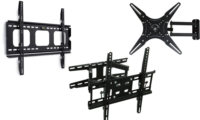 Mount-It! Fixed, Tilt, or Articulating TV Mounts