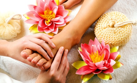 Thai Foot Massage with Option for Sole Pedicure at THE pedi-CURE (Up to 50% Off)
