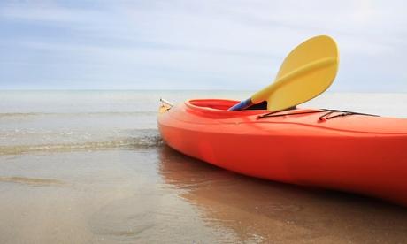 2 horas de kayak, paddle surf o alquiler de bicicleta para 1 o 2 adultos desde 5 € en Kayak and Bike Málaga Oferta en Groupon