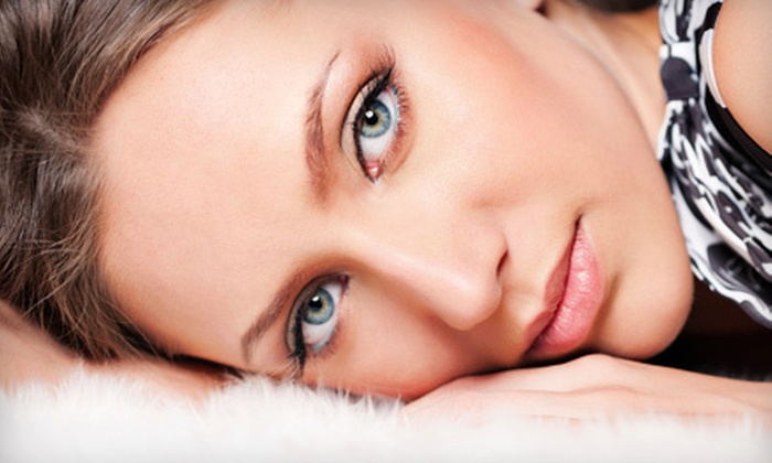 Nu Light Therapy - Carriage Club: Nonsurgical Microcurrent Face-Lift or Oxygen Plasma Facial at Nu Light Therapy (53% Off)