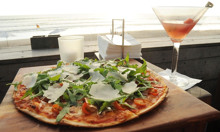 Tony's Pizza House - Woodstock: $5 Off 1 Topping Large Pizza & a Bottle of Wine at Tony's Pizza House