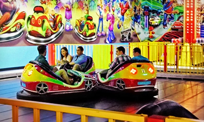 The Party Zone USA - Mechanicstown: Amusement Rides, Soft Play, and Lazer Runner for Two or Four at The Party Zone USA (Up to 68% Off)