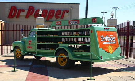 Tour and Soda for Two, Four, Six, or Eight to Dr Pepper Museum (Up to 43% Off)