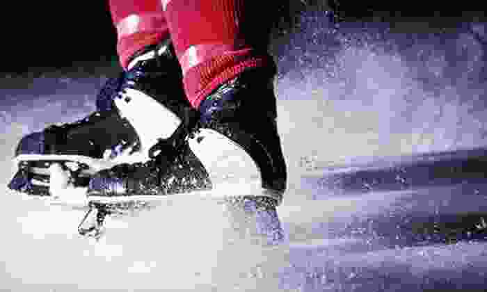 El Paso Hockey Association - Events Center: Ice-Skating with Skate Rental for Two, Four, or Six at El Paso Hockey Association (Up to 54% Off)