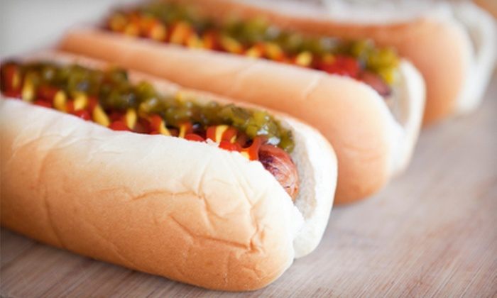 Levis Hot Dogs - Jenkintown: Punch Card for Two, Four, or Six Hot Dogs and Drinks at Levis Hot Dogs (Up to 51% Off)