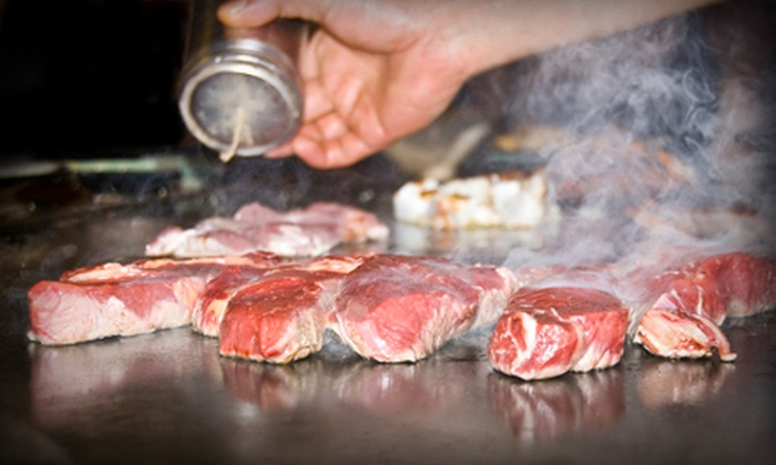 Kabuki Japanese House of Steak - Cary: Sushi and Japanese Food for Dinner at Kabuki Japanese Steakhouse & Sushi Bar (Half Off). Two Options Available.