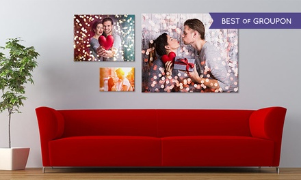 One 12x8 Canvas Print, or One or Two 16x12 or 20x16 Canvas Prints from CanvasOnSale (Up to 85% Off)