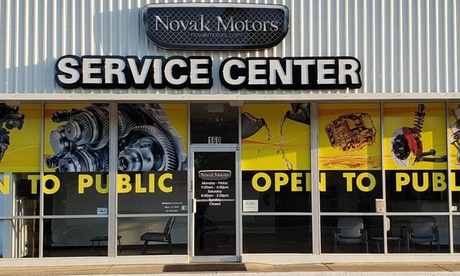 One Synthetic Blend or Full Synthetic Oil Change at Novak Motors (Up to 18% Off)