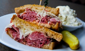Grouchy's NY Deli & Bagels: $16.50 for Three Groupons, Each Good for One Entree at Grouchy's NY Deli & Bagels (Up to $24 Total Value)