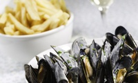 Mussels with Prosecco or Steak Meal with Wine for Two at The Oddfellows, Two Locations (Up to 45% Off)