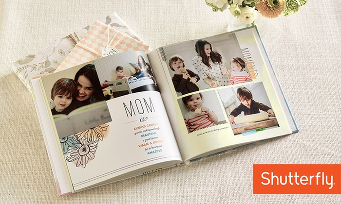 Shutterfly: 8x8, 8x11, or 10x10 Custom Photo Book from Shutterfly (Up to 70% Off)