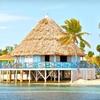 Beachfront Resort on Belize Atoll
