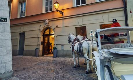 Cracovia: habitación clásica, superior o en suite para 2 a 4 personas con desayuno en el Hotel Bogoria de 4*