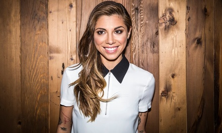 Christina Perri at House of Blues Myrtle Beach on Saturday, August 8, at 8:30 p.m. (Up to 50% Off)