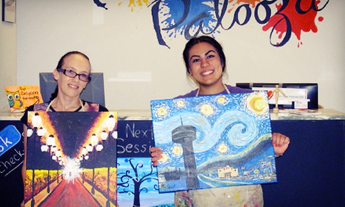 Paint Palooza - Far North Central: One Adult or Children's Painting Class at Paint Palooza (Up to 58% Off)