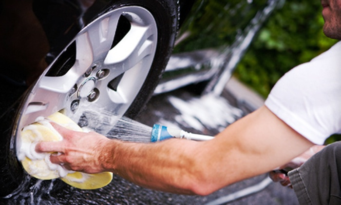 Car Wash Solutions - Downtown Winter Haven: $59 for a Professional Exterior Detail with Meguiar's Paint Sealant and Polish at Car Wash Solutions ($119 Value)