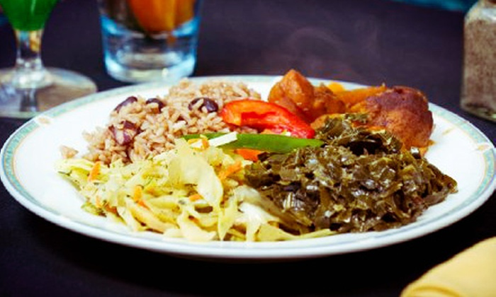 Paradise Palms - Wilmington: Caribbean Cuisine for Lunch or Dinner at Paradise Palms (Half Off)