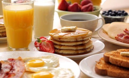 Breakfast Platters and Drinks for Two or Four at Allen's Grill (47% Off)