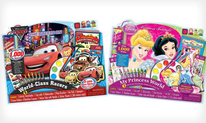 Disney Giant Activity Collections: $9 for a Disney Princess or Disney/Pixar Cars Giant Activity Collection ($17.99 List Price)