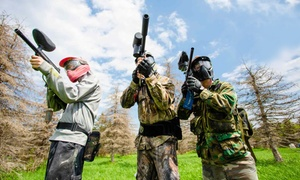MN Pro Paintball: Walk-On Paintball Package with Full-Day Enlistment, Gear, and Food for One, Two, or Four (51% Off)