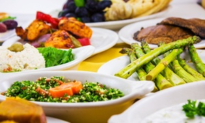 Cafe Izmir: Mediterranean Food at Cafe Izmir (45% Off). Two Options Available.