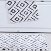 Modern Geometric 100% Cotton Bath Rug (2-Pack)