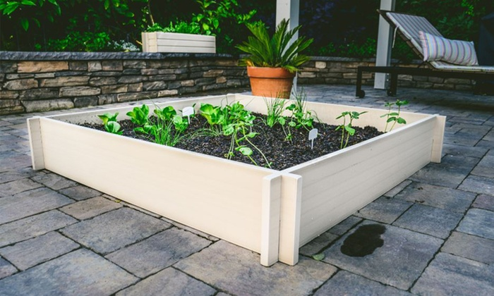ecoflex raised garden beds groupon