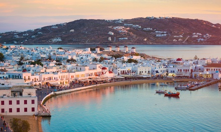 ✈ Mykonos: 3, 5 or 7 Nights at Olia Hotel with Breakfast, Airport Transfers, and Flights*