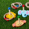 Jungle Animals Wooden Ring-Toss Game