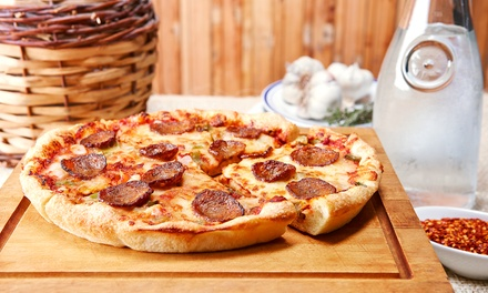Dine-In or Takeout at            Cazoni's Pizza (Up to 40% Off)