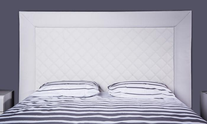 Tête de lit souple décorative molletonnée | Groupon Shopping