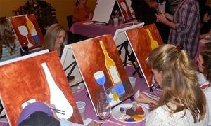 Paint & Sip Studio Temecula: BYOB Painting Class for One or Two at Paint & Sip Studio Temecula (36% Off)