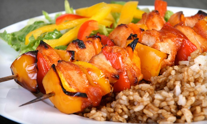 Kalamata Grill - Home Garden: Mediterranean Cuisine for Dinner or Lunch at Kalamata Grill (Half Off)