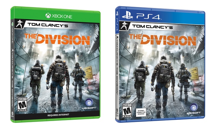 Tom Clancy Games For Ps4 : Tom clancy s the division for ps or xbox one groupon