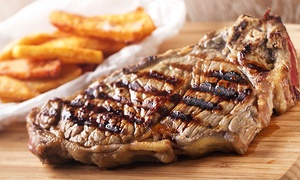 Hilton Hotel Coventry - Non-Accommodation: Steak Meal and Wine for Two or Four at  4* Hilton Coventry